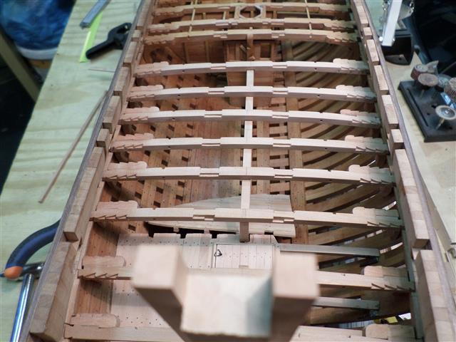 L'AMARANTE corvetta 12 cannoni 1\36 G.DELACROIX - Pagina 8 146_sm14