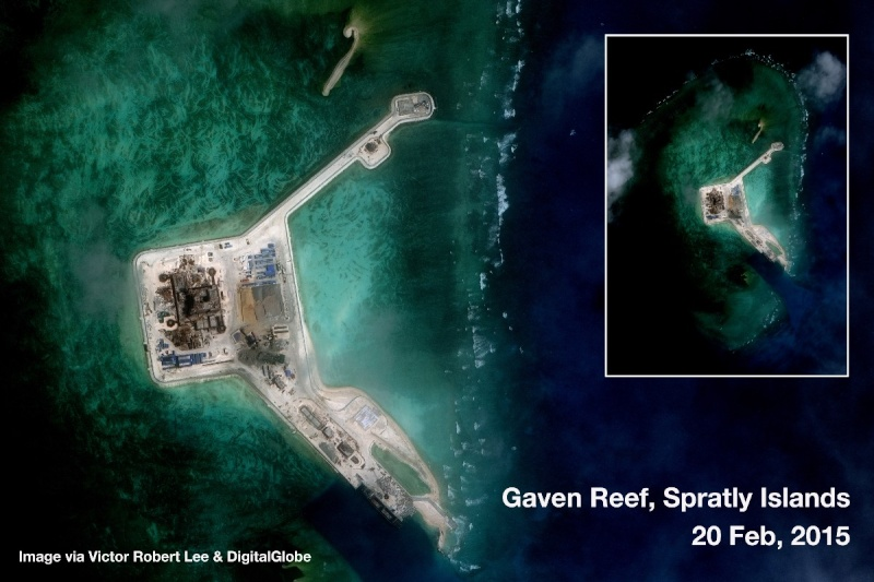 China build artificial islands in South China Sea Gaven_10