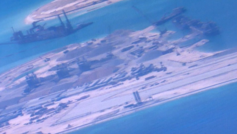 China build artificial islands in South China Sea P-8a_s10