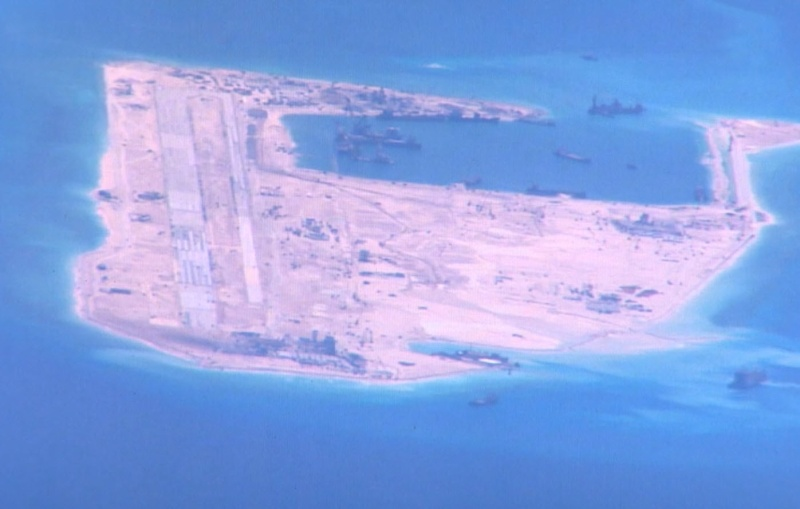 China build artificial islands in South China Sea P-8a_s11