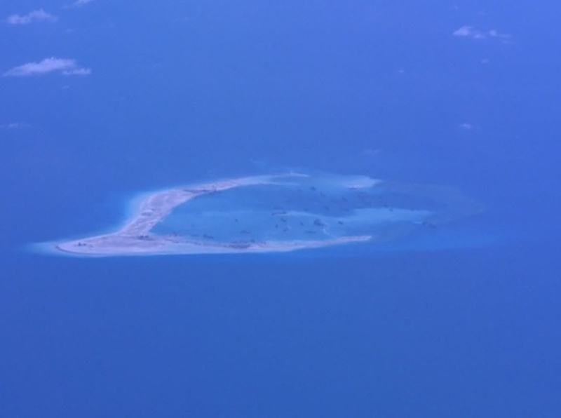 China build artificial islands in South China Sea P-8a_s12