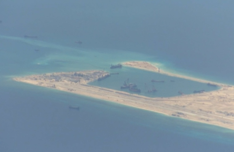 China build artificial islands in South China Sea P-8a_s13