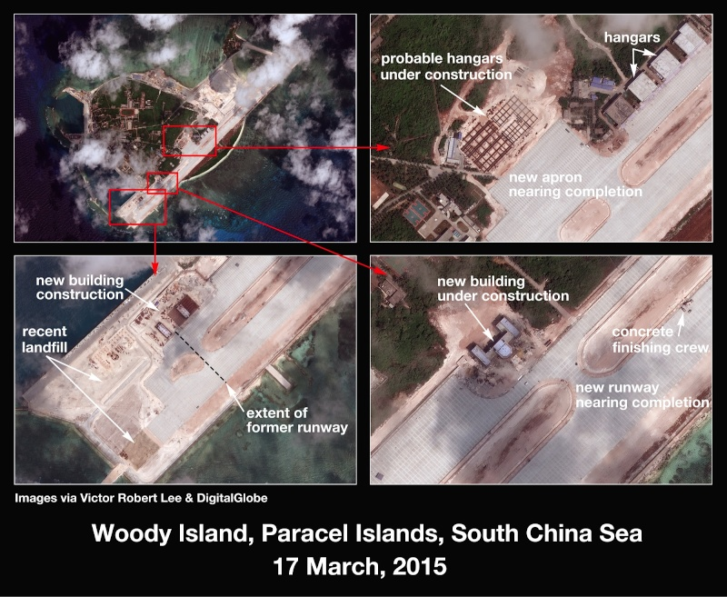 China build artificial islands in South China Sea Thedip10