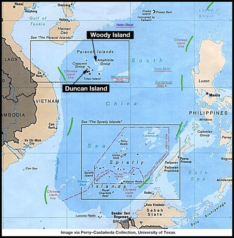 China build artificial islands in South China Sea Thedip11