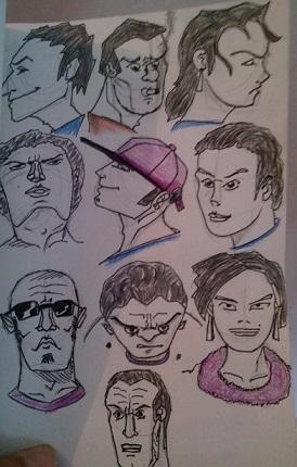Monk et son crayon Visage11