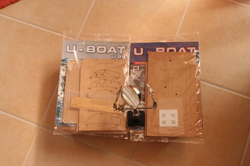 U-BOAT U96 par Hachette 1/48 - Page 6 Colis_11
