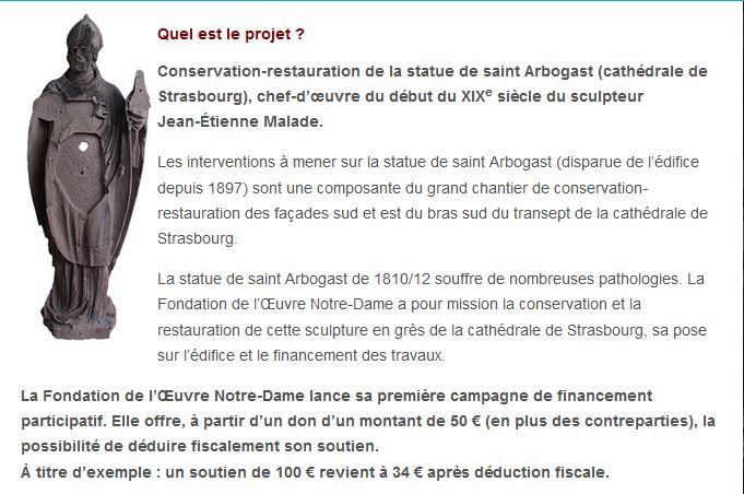 Appel aux dons - Fondation de l'oeuvre Notre Dame Projet10