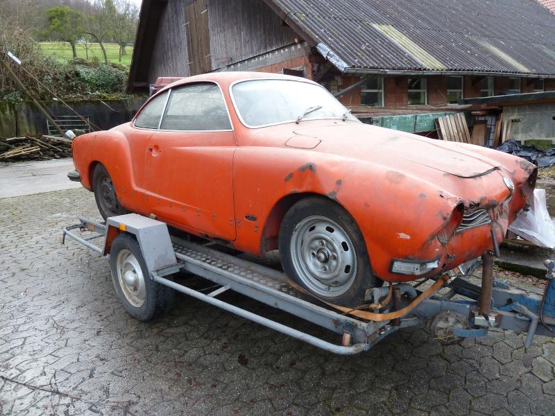 denis du bas rhin et sa Karmann Ghia de 73 sortie de grange - Page 22 P1010010