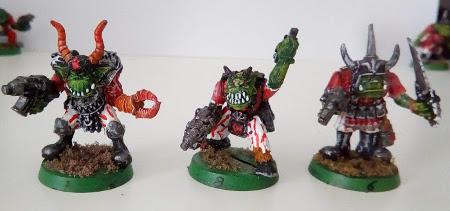 Vendo ejército de orkos de Warhammer 40K Chaos_10