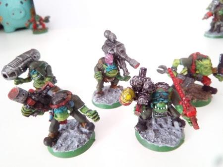 Vendo ejército de orkos de Warhammer 40K Deaths10