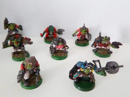 Vendo ejército de orkos de Warhammer 40K Freebo11
