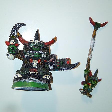 Vendo ejército de orkos de Warhammer 40K Ghazgh10