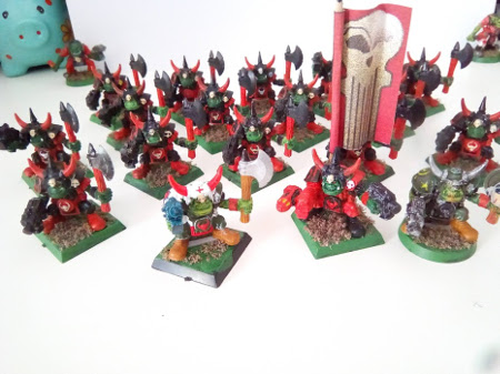 Vendo ejército de orkos de Warhammer 40K Goffs10