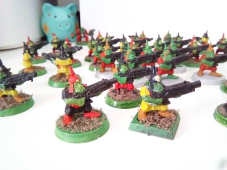 Vendo ejército de orkos de Warhammer 40K Gretch10