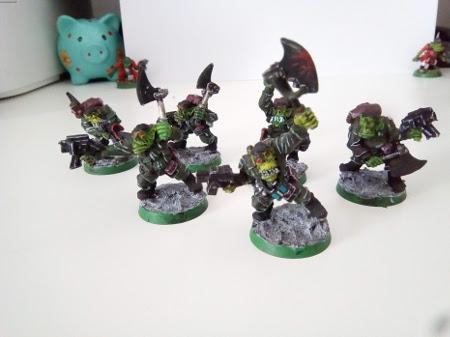 Vendo ejército de orkos de Warhammer 40K Komman10