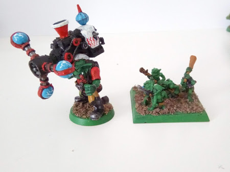 Vendo ejército de orkos de Warhammer 40K Shokk10