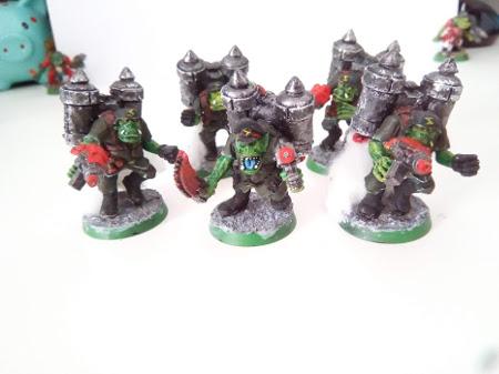 Vendo ejército de orkos de Warhammer 40K Stormb10