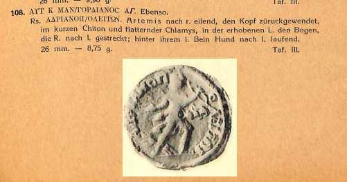 AE26 Tetrassarion de Gordien III, Hadrianopolis à identifier X-gera10