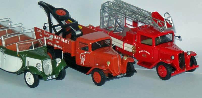 Les Plus Beaux Camions de Sapeurs-Pompiers (Hachette) 2310