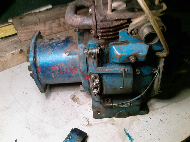 Problème d'allumage moteur Kohler K141T sur un Super U7 Photos24