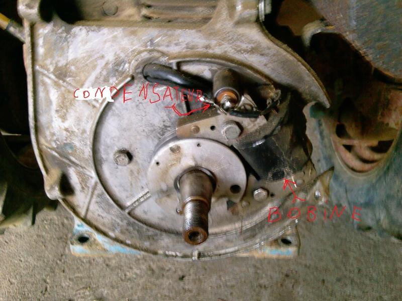 Problème d'allumage moteur Kohler K141T sur un Super U7 Photos25