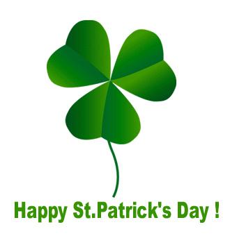 Bonne Saint Patrick  Trefle10