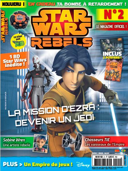 Magazine STAR WARS REBELS #2 Swr210