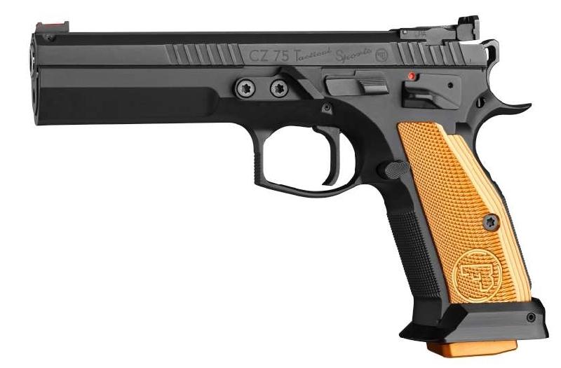 Nouveau CZ 75 Tactical Sports Orange Cz-spo10