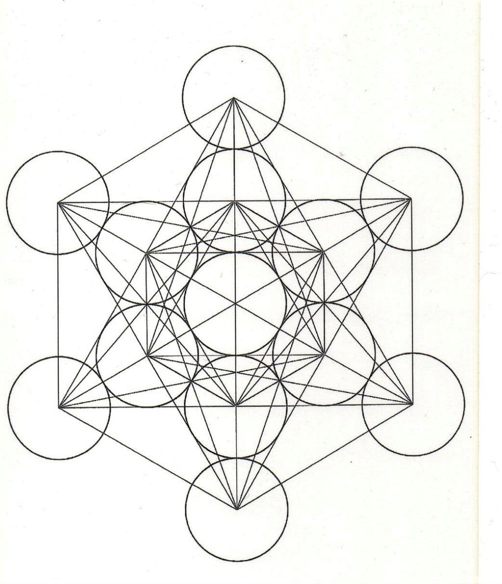 Les solides de Platon 4- La table Alchimique Cube_m10