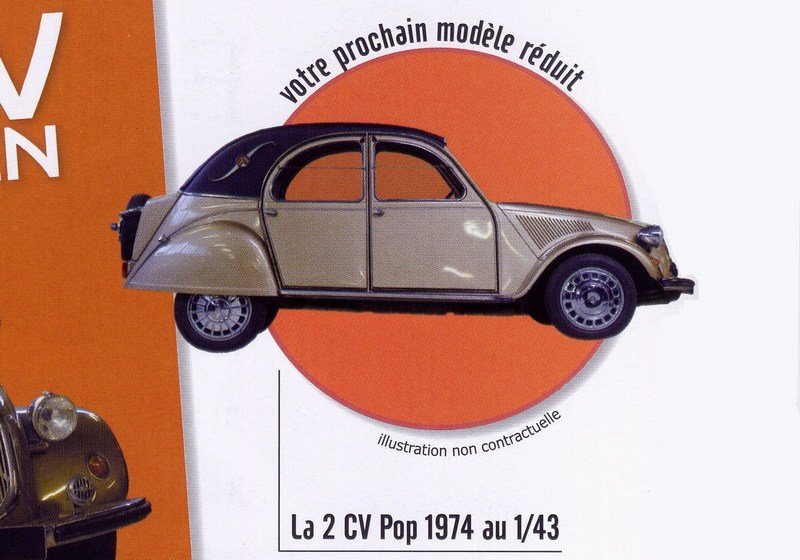 2011 - Hachette Collections + AUTO PLUS > Collection 2 CV CITROËN Nc9310
