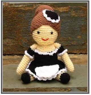 Vitrine des poupées et personnages de dessins animés. TOUTES A VOS CROCHETS  Femme_10