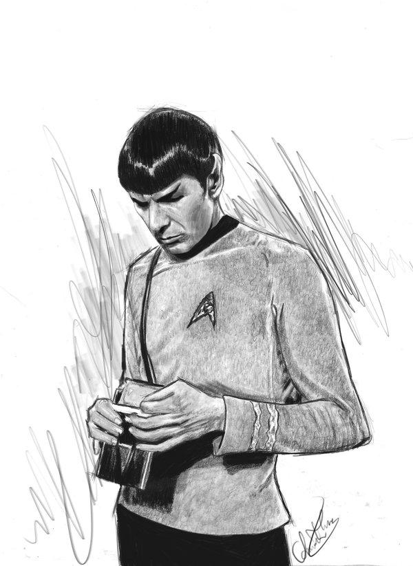 Fan-arts des series de notre enfance - Page 2 Spock_12