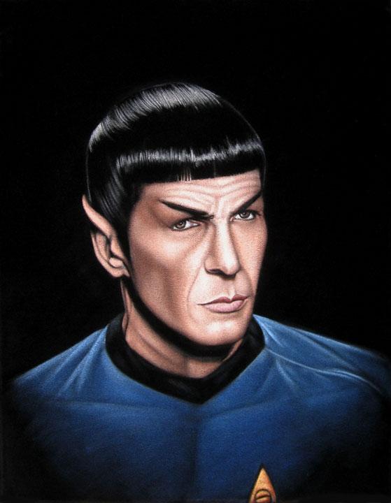 Fan-arts des series de notre enfance - Page 3 Spock_13