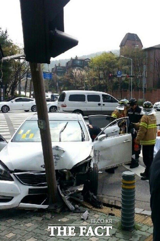 Lee Eun Hee hospitalisée ! Accide10