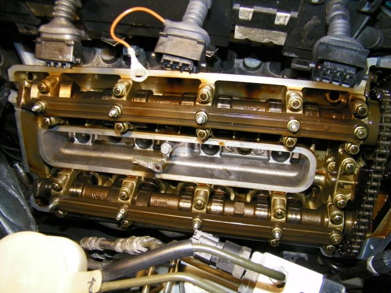 Décalaminage moteur v8 4,9l produit Bardahl 100_0910