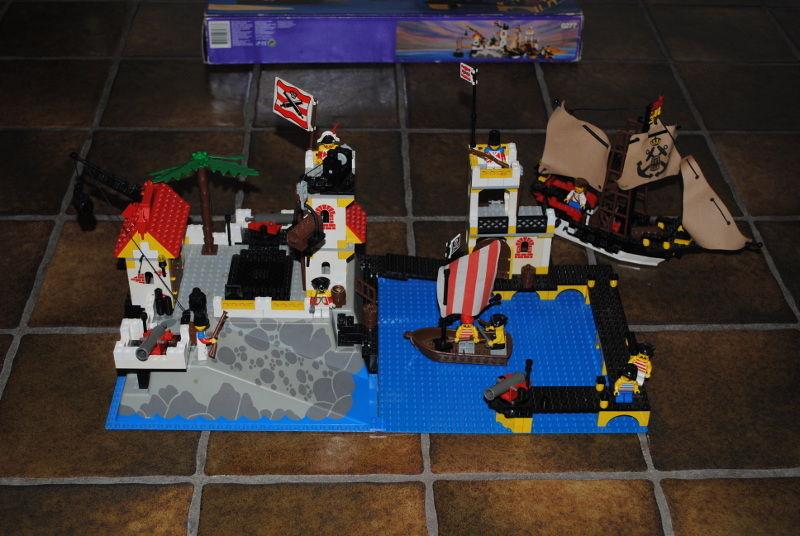 VENDO COLLEZIONE LEGO PIRATI 627711