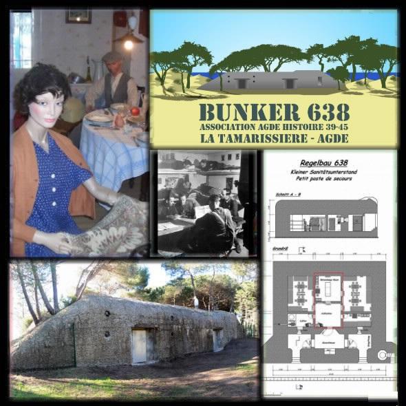 Première sur le Südwall inauguration du bunker 638 à Agde  Nouvea10