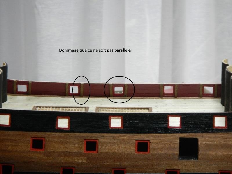 Construction du Sovereign of the Seas au 1/84 (partie 1) - Page 30 Dscn1410