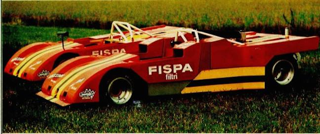 Strange and ugly and mostly unknown racing cars Ferrar16
