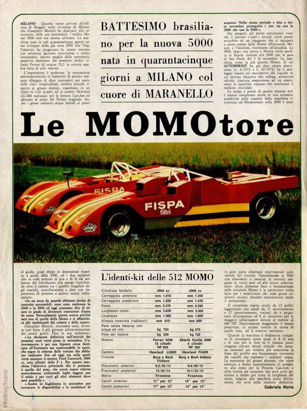 Strange and ugly and mostly unknown racing cars Ferrar17