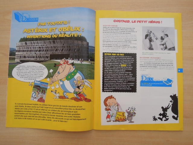Arkéo Junior n° 229 Astérix et Obélix : Invention ou réalité Dscn6123