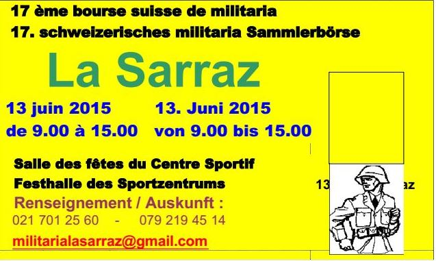 Bourse militaria 2015 de La Sarraz / VD  La_sar10