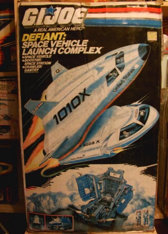 Restauration Boite Space Défiant Vehicule Launch Complex Defian10