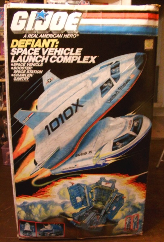 Restauration Boite Space Défiant Vehicule Launch Complex Defian16