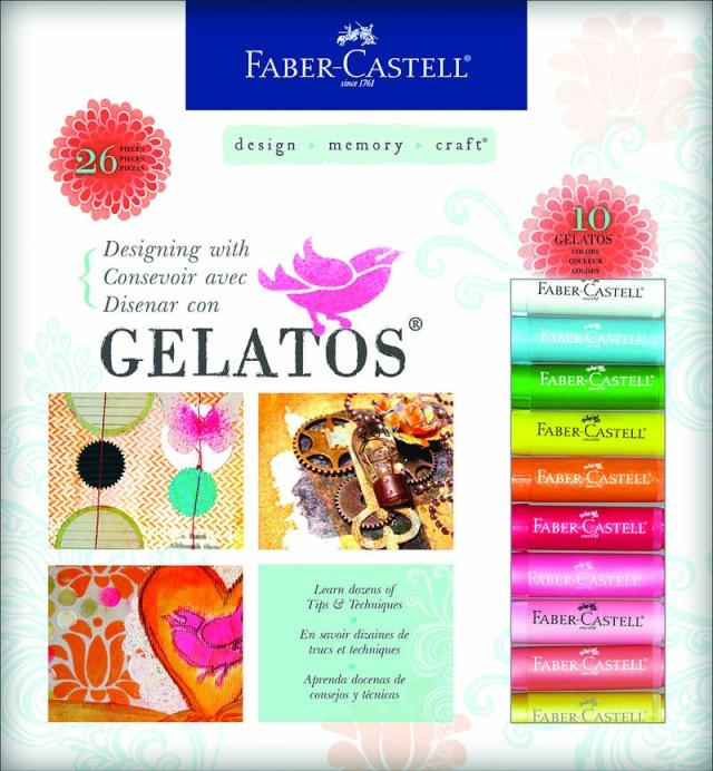 Gelatos de Faber-Castell Gelato10