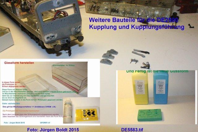 Das dritte Projekt 2014 - Die Henschel-BBC DE2500 Lok in 0 - Seite 2 De558310