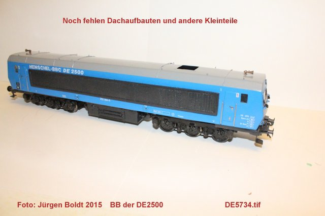 Das dritte Projekt 2014 - Die Henschel-BBC DE2500 Lok in 0 - Seite 2 De573410