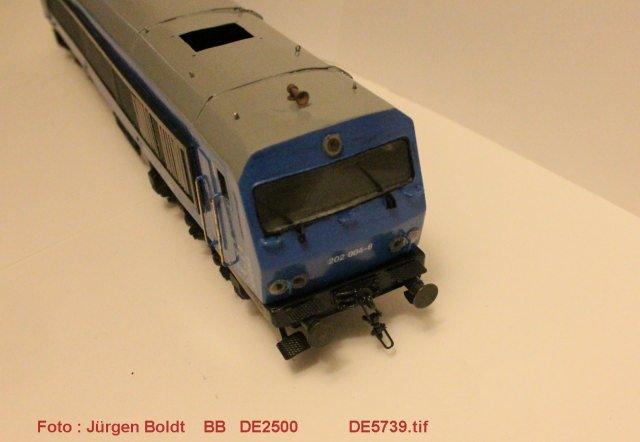 Das dritte Projekt 2014 - Die Henschel-BBC DE2500 Lok in 0 - Seite 2 De573911