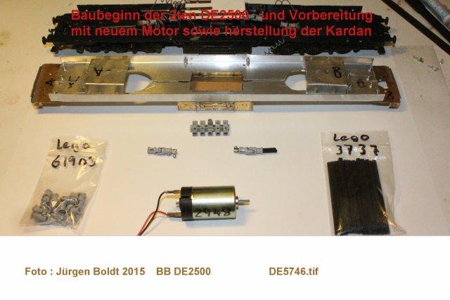 Das dritte Projekt 2014 - Die Henschel-BBC DE2500 Lok in 0 - Seite 2 De574610