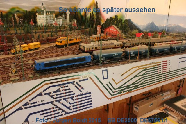 Das dritte Projekt 2014 - Die Henschel-BBC DE2500 Lok in 0 - Seite 2 De575610
